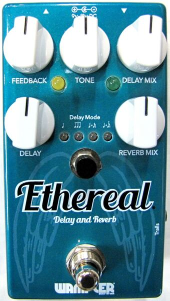 Used Wampler Ethereal Reverb and Delay Guitar Effects Pedal