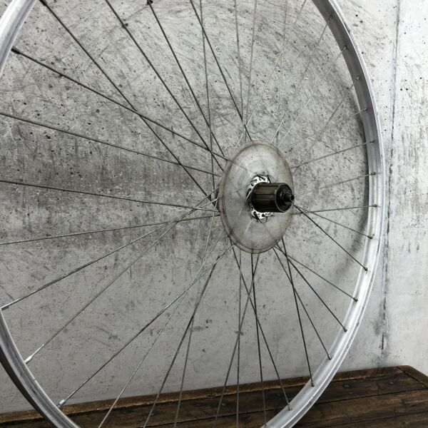 Vintage 27quot; Rear Wheel Uniglide Shimano Araya Alloy 123mm $49.79
