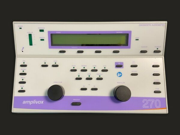 Amplivox 270 Diagnostic Audiometer **USA Seller** FREE SHIPPING Hearing Tester