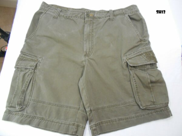 Mens Cargo Shorts Timberland Size 36 9.5quot;  SH13 $12.49