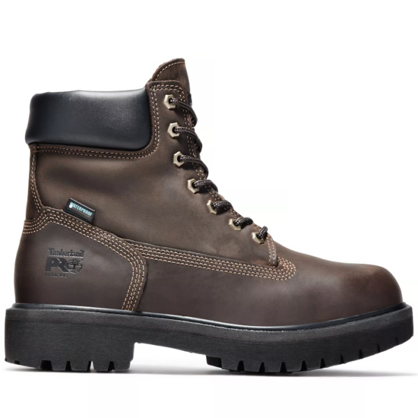 NEW Timberland Direct Attach 6quot; Size 8.5W Steel Toe Waterproof Leather Boot $114.95