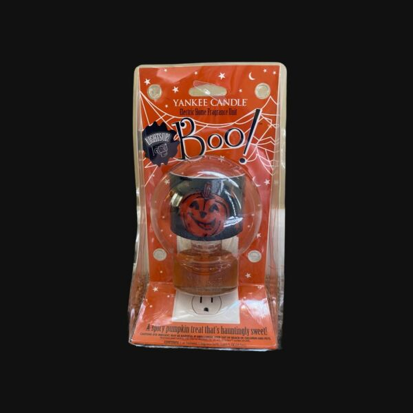 """Yankee Candle """"Boo"""" Electric Home Fragrance Unit Halloween Lights Up $18.00"""