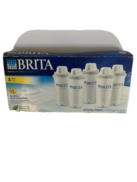 5 New brita water filter pitcher replacement filters Make Great Tasting Water