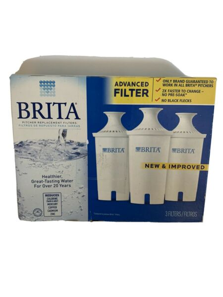 3 New brita water filter pitcher replacement filters Make Great Tasting Water