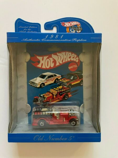 Hot Wheels 30th Anniversary 1981 Old Number 5 Fire Truck