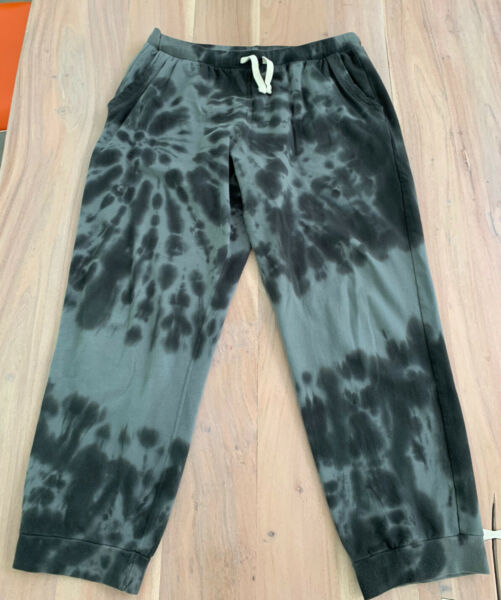 Electric And Rose Jogger XL NEIL GREY BLOCK tie dye pants $49.99