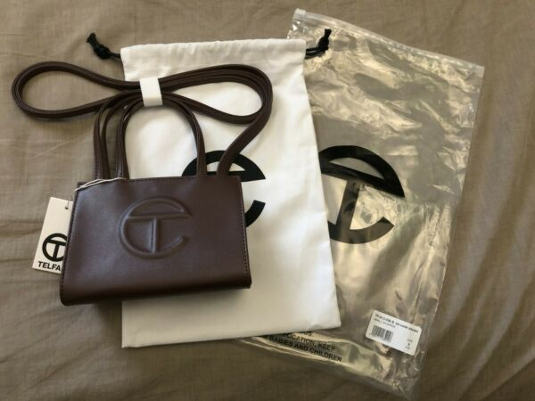Telfar Chocolate Small Bag **SHIPS NEXT DAY** $250.00
