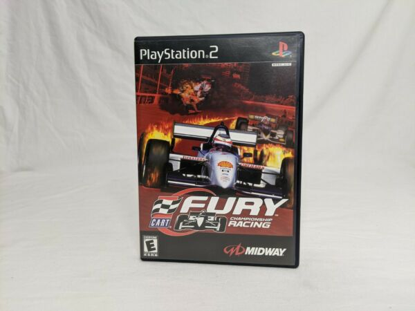 Cart Fury Championship Racing for PS2 Complete in Good Condition Free Shipping
