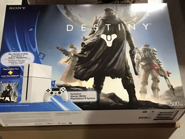 Playstation 4 Destiny Limited Edition Glacier White PS4 Console $800.00