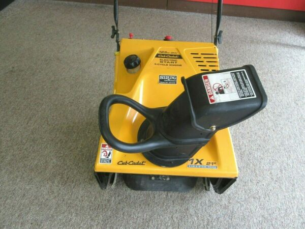 Cub Cadet 1X 21quot; Single Stage Electric Start Gas Snow Blower