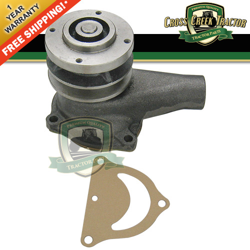 Round Flange Tractor Water Pump with Pulley fits Ford 8N 9N Tractors $51.88