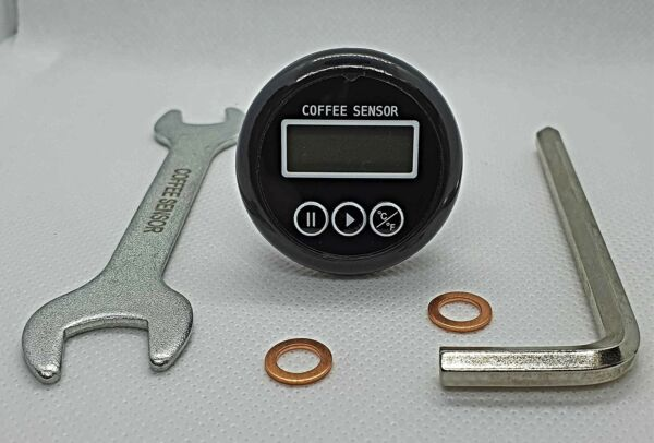 Digital thermometer amp; adapter for HX and SBDU coffee machines with exposed E6...