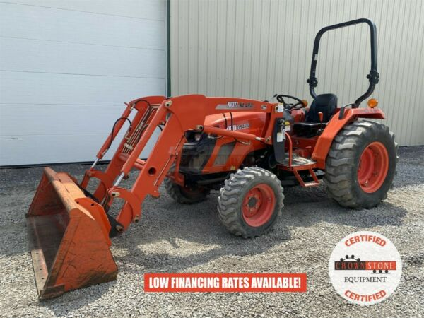 2016 KIOTI DS4110 TRACTOR W LOADER 2 POST ROPS 4X4 540 PTO 41 HP 361 HOURS $19900.00