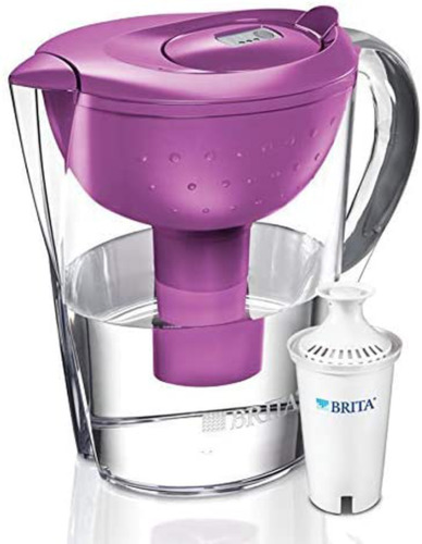 Brita Pacifica 10 Cup Water Filter Pitcher Berry NEW