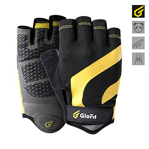 GLOFIT Cycling Excersicing Shockproof Breathable MTB Bike Gloves New $15.00