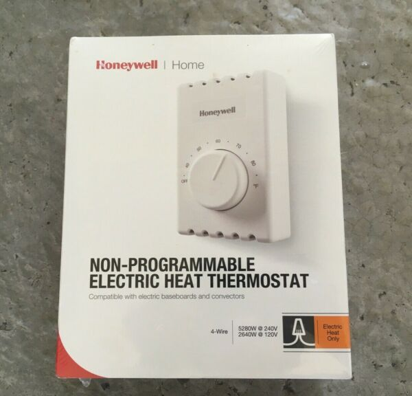 Honeywell Home 4 Wire Non Programmable Elec Heat Thermostat CT410B. Brand New $17.99