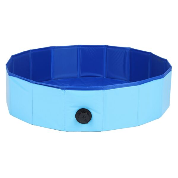 Foldable Pet Pool Plastic Dog Mini Pig Bath Tub Outdoor Indoor Dogs Puppy Supply $183.11