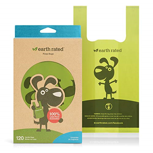 Earth Rated Dog Poop Bags 120 Extra Thick and Strong Dog Bags for Poop with $10.55