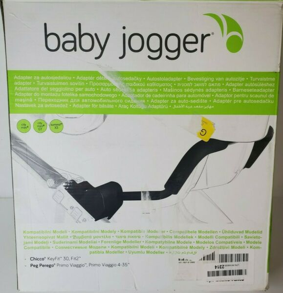 Baby Jogger Car Seat Adapter Single for Peg Perego amp; Chicco Keyfit 30 Fit2 $37.80