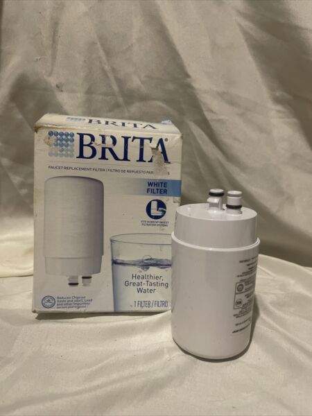 BRITA Faucet Water Filter System Replacement Filter FF 100 WHITE Open Box