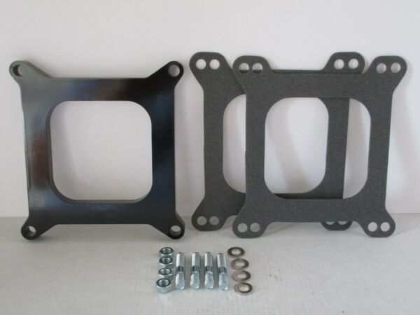 1 2quot; OPEN PHENOLIC CARBURETOR SPACER EDELBROCK CARTER CHEVY FORD 4bbl. #9138 $16.99