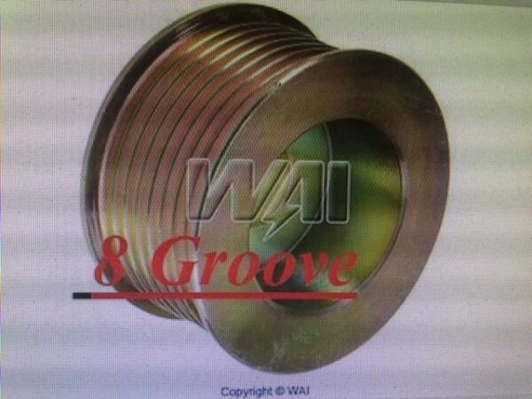 OVERDRIVE 8 GROOVE PULLEY Gain output @ idle in some apps FORD ALTERNATOR 6g 3g $24.99
