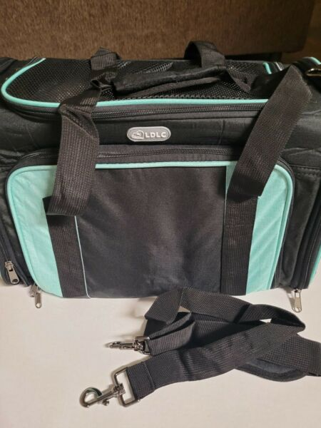 LDLC Portable cat dog carriers 2 tone foldable Soft sided $40.00