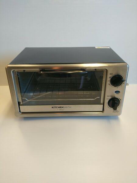 KitchenSmith. By Bella Toaster Oven Stainless Steel
