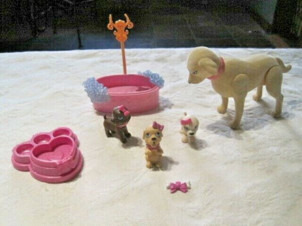 Barbie Luv Me 3 Taffy Dog amp; Puppies Lot A $13.99