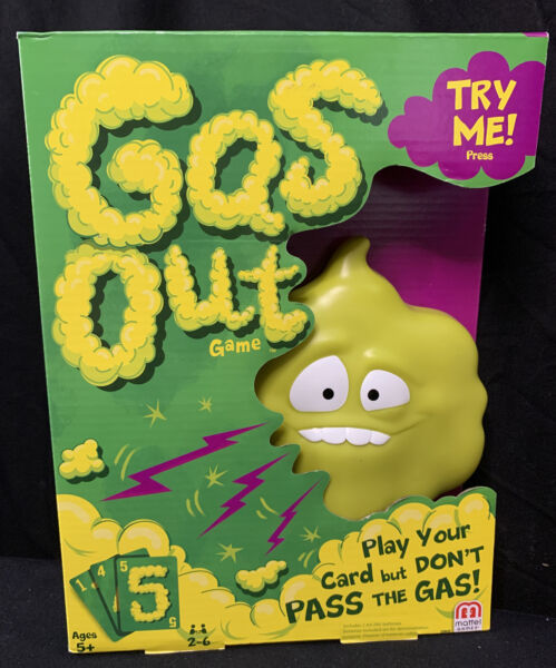 Mattel Games Gas Out New Board Game $19.30