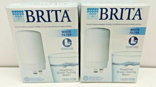 2 BRITA FAUCET REPLACEMENT FILTER FITS MODEL FF 100 AND OPFF 100