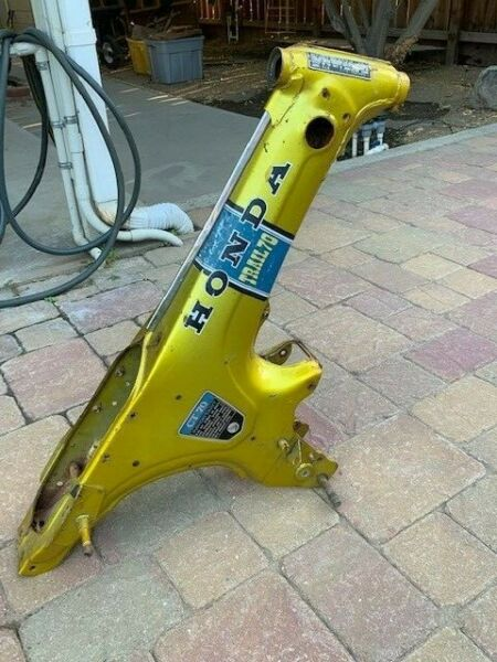 Honda CT70 Bike Frame 1972 Candy Yellow Special $375.95