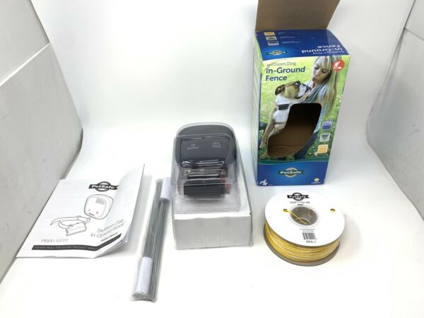 PIG00 10777 PetSafe Stubborn Dog In Ground Fence Transmitter and Collar System $104.99