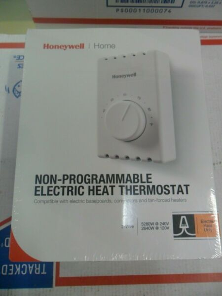 HONEYWELL CT410A Mechanical Non Programmable Electric Heat Thermostat NEW Sealed $19.99
