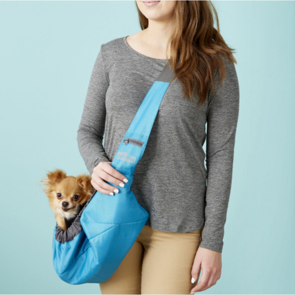 Outward Hound Blue PoochPouch Dog Sling $25.00