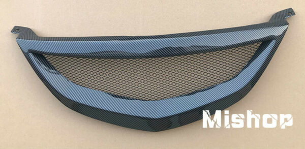 CARBON PATTERN FOR 2003 2005 MAZDA 6 MAZDA6 HONEYCOMB MESH FRONT GRILL GRILLE $195.00