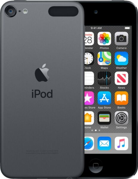 Apple iPod Touch 7th Generation MP4 MP3 Player 32GB A2178 Space Gray