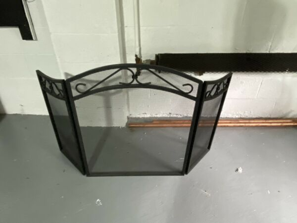 fireplace screen and Vintage Fireplace Grate
