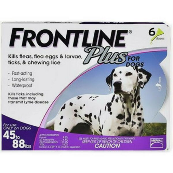 Frontline Plus Flea and Tick Control for Large Dog $69.99