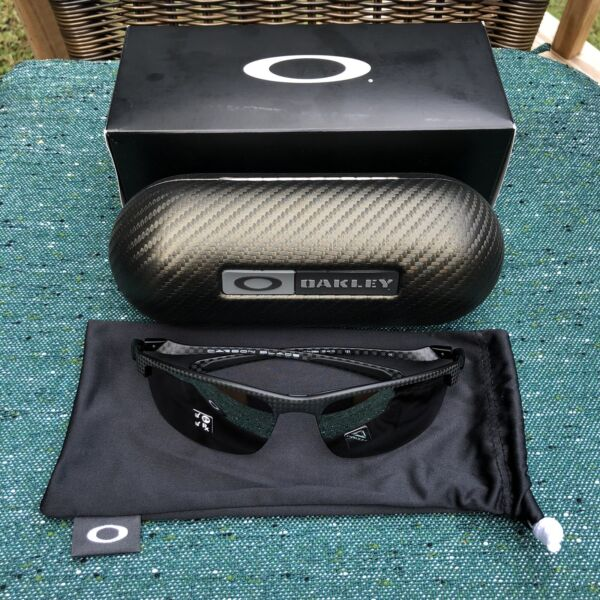 Brand New Oakley Carbon Blade Sunglasses 100% AUTHENTIC 0OO9174 Prizm $390.00