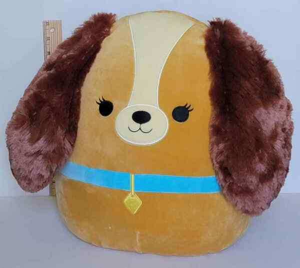Disney Squishmallow 14quot; Lady AUTHENTIC Lady amp; The Tramp Dog Soft Plush BNWT $47.77