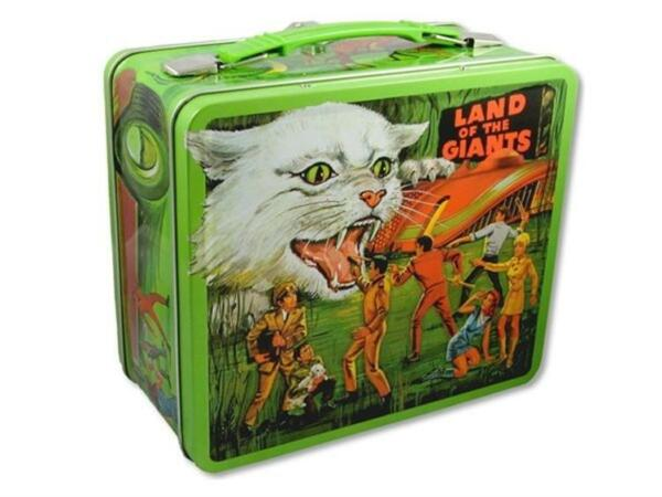 Land Of The Giants Lunchbox Irwin Allen lunch Box lost in space Spindrift