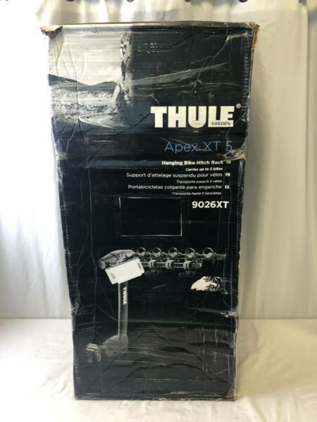 Thule Apex XT 5 Hanging Bike Hitch Rack For 1.25 amp; 2quot; Receivers $175.00