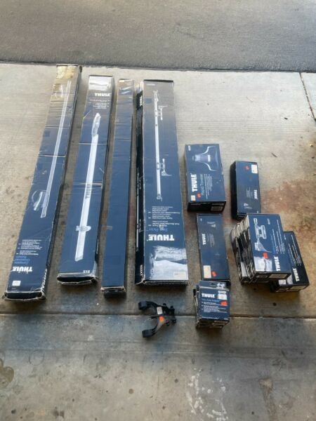 THULE BIKE RACKS AND EXTENSIONS LOT MANY DUPLICATES $500.00