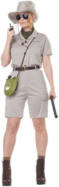 Adult Anthropologist Zookeeper Costume. Large 10 12 . New $29.99