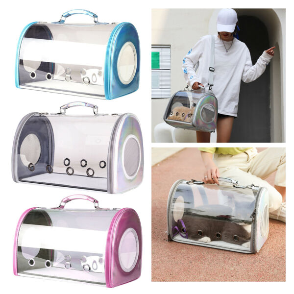 Pet Carrier PackageSpace Capsule Transparent Bags for Cats and for Travel $56.42