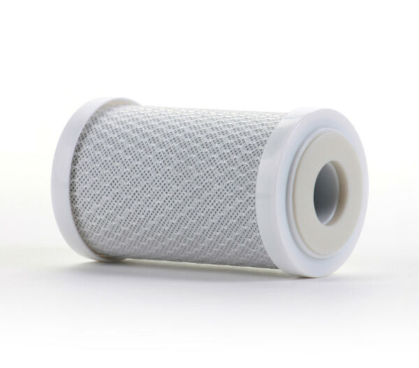 Hydronix CB 25 0505 NSF Coconut Activated Carbon Block Water Filter 5 μm 2.5 x 5 $6.90