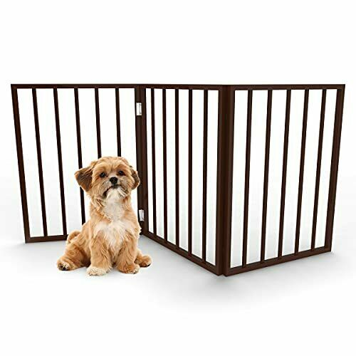 Pet Gate Dog Gate for Doorways Stairs or House Freestanding Folding Accordion... $44.74