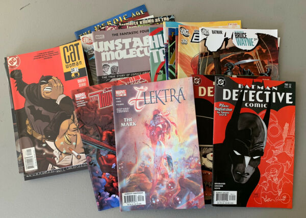 50 Comic Book Lot FREE SHIPPING Assorted Marvel amp; DC amp; Indy. Most Circa 2010 $24.99