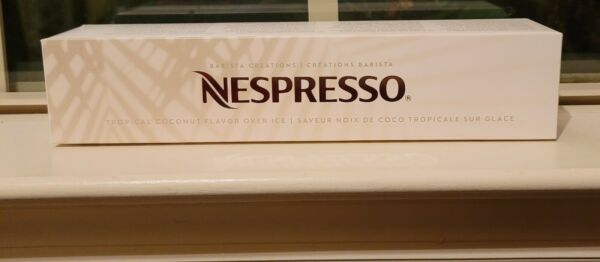 Nespresso Tropical Coconut Over Ice Limited Edition for Vertuo line